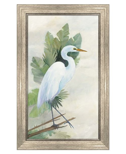 Metaverse Standing Egret I by Avery Tillmon Framed Art