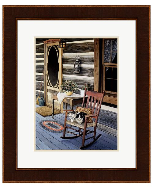 Metaverse My Front Porch by Kevin Dodds Framed Art