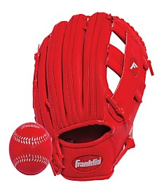 "Franklin Sports 9.5"" Rtp Performance Teeball Glove And Ball Combo - Right Handed Thrower"