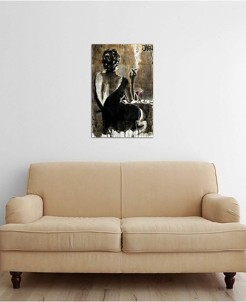 "iCanvas ""Cocktail"" by Loui Jover Gallery-Wrapped Canvas Print"