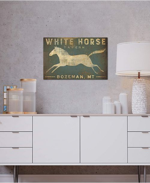 "iCanvas ""White Horse Tavern"" by Ryan Fowler Gallery-Wrapped Canvas Print"
