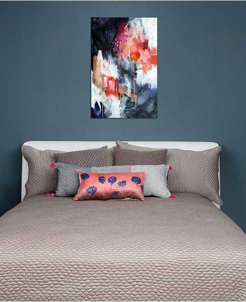 """iCanvas """"We Come In Twos"""" by SANA JAMLANEY Gallery-Wrapped Canvas Print"""