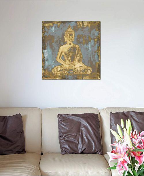 "iCanvas ""Meditating Buddha"" by Tom Bray Gallery-Wrapped Canvas Print (18 x 18 x 0.75)"