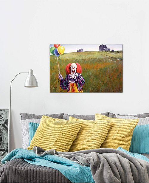 """iCanvas """"Pennywise's World"""" by Hillary White Gallery-Wrapped Canvas Print (26 x 40 x 0.75)"""
