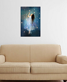"""iCanvas """"Star Sailor"""" by Catrin Welz-Stein Gallery-Wrapped Canvas Print (26 x 18 x 0.75)"""