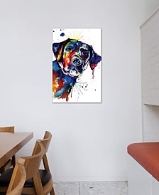 "iCanvas ""Black Lab"" by Weekday Best Gallery-Wrapped Canvas Print (40 x 26 x 0.75)"