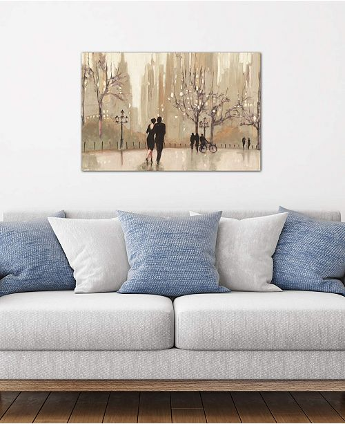 """iCanvas """"An Evening Out I"""" by Julia Purinton Gallery-Wrapped Canvas Print (26 x 40 x 0.75)"""