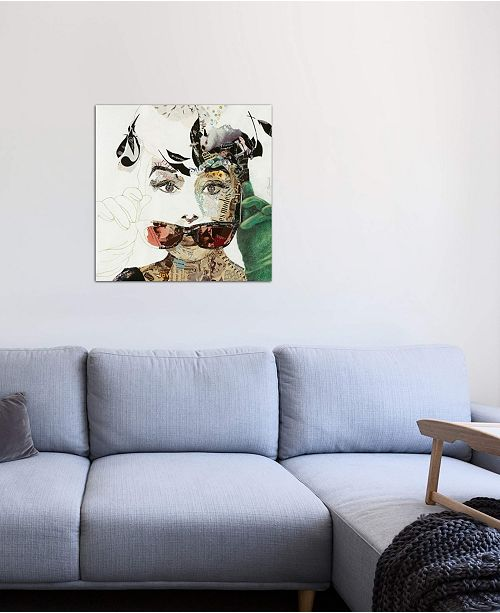 """iCanvas """"Audrey"""" by Ines Kouidis Gallery-Wrapped Canvas Print"""