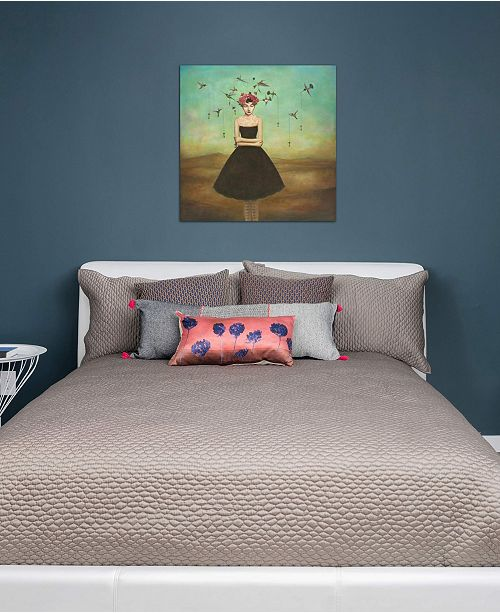 """iCanvas """"Fair Trade Frame of Mind"""" by Duy Huynh Gallery-Wrapped Canvas Print (18 x 18 x 0.75)"""