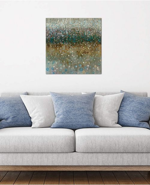 "iCanvas ""Abstract Rain"" by Danhui Nai Gallery-Wrapped Canvas Print (26 x 26 x 0.75)"