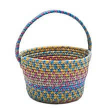 Easter Spring Mix Braided Basket