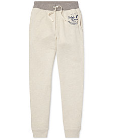 Polo Ralph Lauren Big Boys Twill Terry Joggers