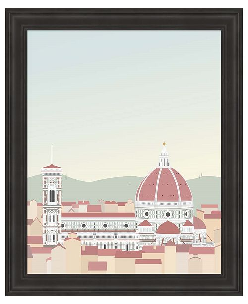 Metaverse Travel Europe--Firenze by Gurli Soerensen Framed Art