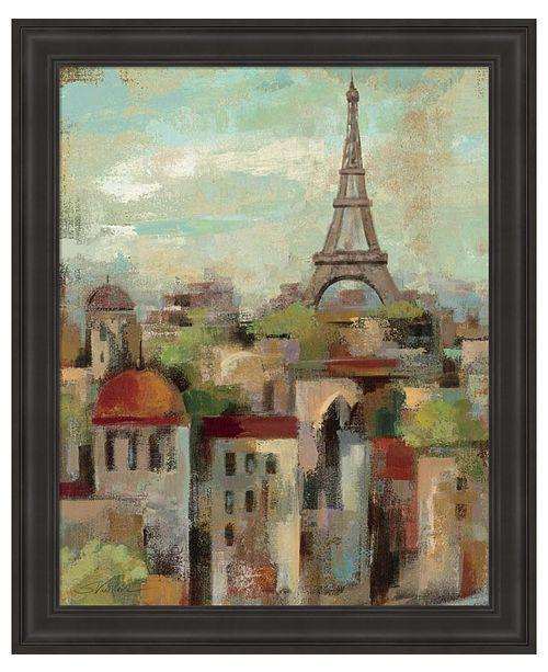 Metaverse Spring in Paris II by Silvia Vassileva Framed Art