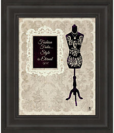Chic Dress Form II by Studio Mousseau Framed Art