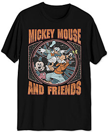 Mickey Mouse & Friends Men's Big & Tall Graphic T-Shirt