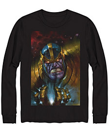 Thanos Glowing Eyes Men's Graphic T-Shirt