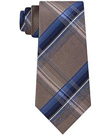 Kenneth Cole Reaction Men's Vermont Plaid Slim Tie
