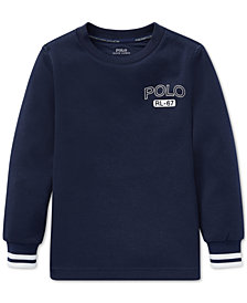 Polo Ralph Lauren Little Boys Double-Knit Graphic T-Shirt