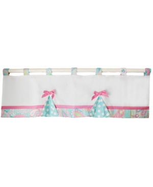 Pixie Baby in Aqua Curtain Valance Bedding