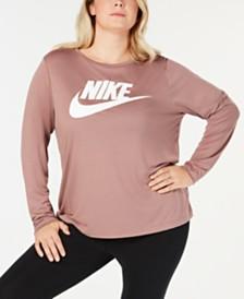 Nike Plus Size Sportswear Logo Top
