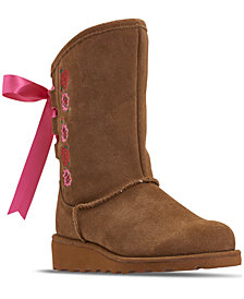 Bearpaw Little Girls' Carly Boots from Finish Line