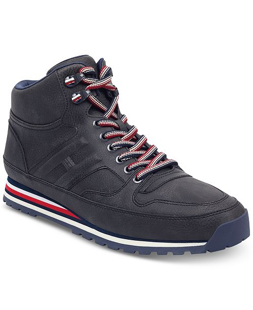 614bf24f1 Tommy Hilfiger Men s Owens Hiker Sneakers   Reviews - All Men s ...