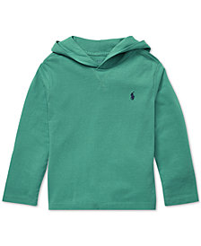 Polo Ralph Lauren Little Boys Cotton Jersey Hoodie