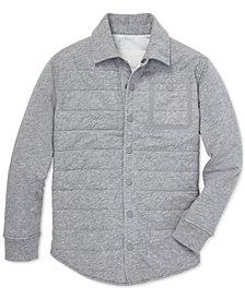Polo Ralph Lauren Big Boys Quilted Jersey Shirt Jacket