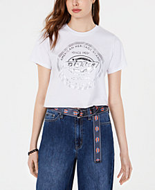 Dickies Cotton Cropped Foil-Logo T-Shirt
