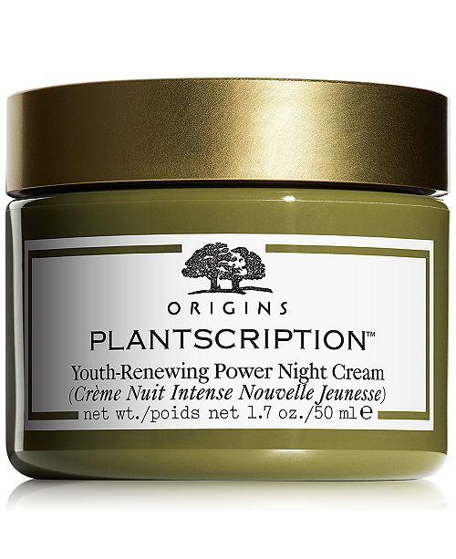 Origins Plantscription Youth-Renewing Power Night Cream 1.7 oz.