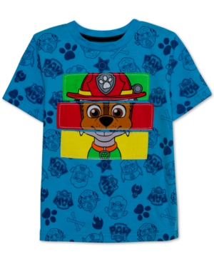 image of Nickelodeon Little Boys Paw Heroes Graphic T-Shirt