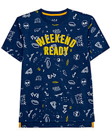 Jem Big Boys Weekend Ready Graphic T-Shirt