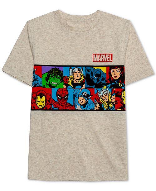 Marvel Big Boys Vintage Marvel Graphic T Shirt & Reviews