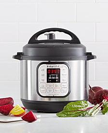 Instant Pot DUO30 7-in-1 Programmable Pressure Cooker 3-Qt.