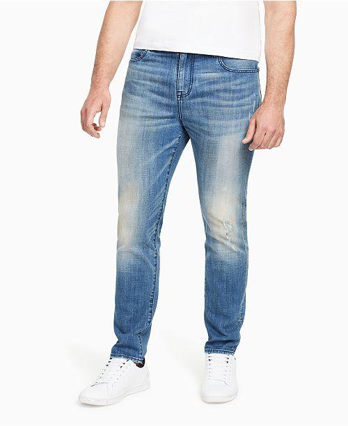 WILLIAM RAST Men's Titan Athletic Tapered Jeans