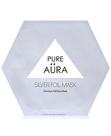 Pure Aura Silver Foil Mask