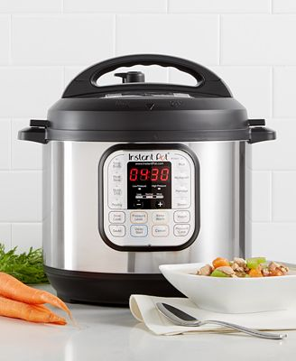 Instant Pot Duo60 7 In 1 Programmable Pressure Cooker 6 Qt Small