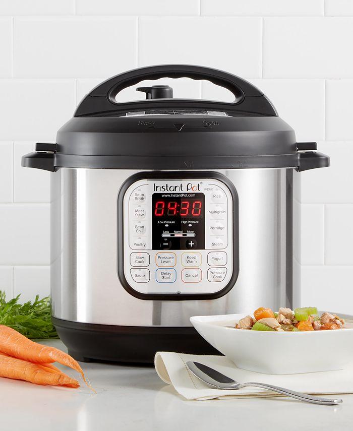Instant Pot - DUO60 6-Qt. Electric Programmable Pressure Cooker
