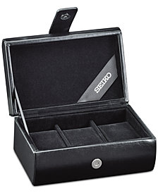 Receive a Free Watch Travel Case with $350 or more Seiko purchase while supplies last.