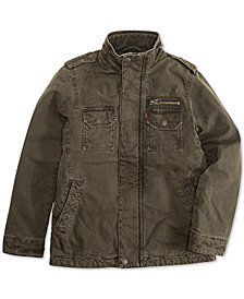 Levi's® Big Boys Zip-Front Barn Jacket