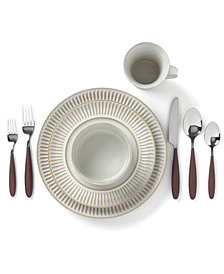 Dansk Flamestone Ivory Dinnerware Collection