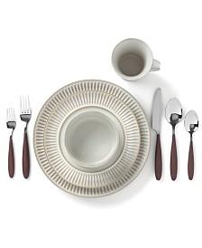 Dansk Flamestone Ivory Dinnerware Collection
