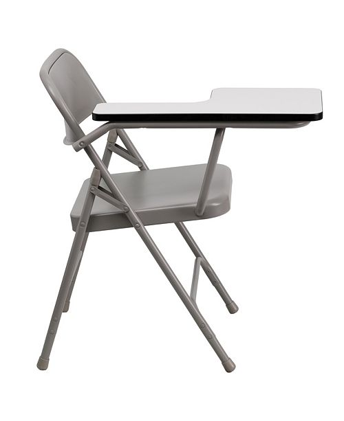 Peachy Premium Steel Folding Chair With Right Handed Tablet Arm Alphanode Cool Chair Designs And Ideas Alphanodeonline