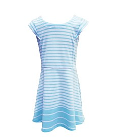 Little Girls Classic Knit A - Line Dress