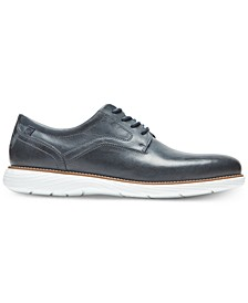 Men's Garett Leather Plain-Toe Oxfords