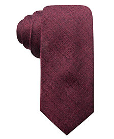 Ryan Seacrest Distinction™ Men's Tymon Seasonal Solid Slim Tie, Created for Macy's