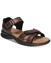 7d28c9d28b96 Dr.Scholl s Men s Gus Leather Sandals