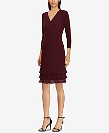 Lauren Ralph Lauren Ruffle-Trim Dress