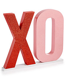 Martha Stewart Collection Valentine's Day XO Sign, Created for Macy's
